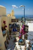 Boutique de cadeaux pour des touristes Photographie stock libre de droits