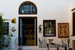 Boutique de cadeaux pour des touristes Photographie stock