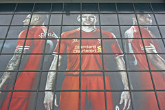 Boutique de club du football de Liverpool Image libre de droits