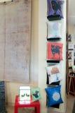 Boutique de coussins Photo stock