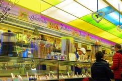 Boutique de crème glacée  Photos libres de droits