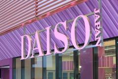 Boutique de Daiso à Melbourne Images libres de droits