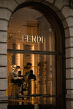 Boutique de Fendi Images libres de droits