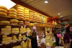 boutique de fromage image libre de droits