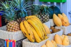 Boutique de fruit Image libre de droits