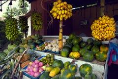 Boutique de fruit de rue Image stock