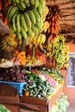 Boutique de fruits et légumes l'Inde Image libre de droits