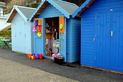 Boutique de hutte de plage Image stock