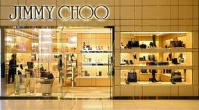Boutique de Jimmy Choo en Hong-Kong Fotografía de archivo