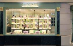 Boutique de Laduree à Hong Kong Photos stock