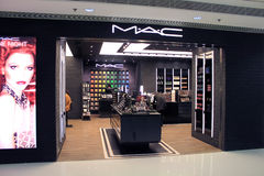 Boutique de MAC à Hong Kong Photo libre de droits