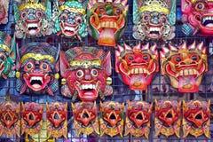 Boutique de masque de Topeng Photographie stock libre de droits