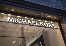 Boutique de Michael Kors Image libre de droits