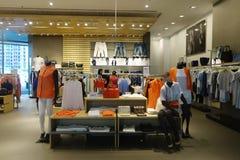 Boutique de mode à l'intérieur d'aéroport de Changi Singapour Photographie stock