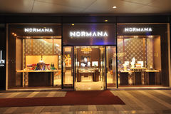 Boutique de mode de Normana Photo stock