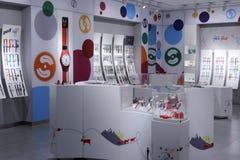 Boutique de montre d'enfants Photos libres de droits