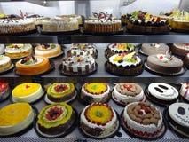 Boutique de pâtisserie dans une banlieue de Mexico Photos stock
