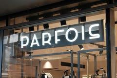 Boutique de Parfois Images stock