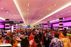 Boutique de parfum et de cosmétiques - Paris Photographie stock libre de droits