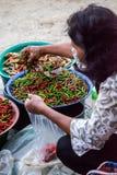Boutique de poivre de piment photo libre de droits