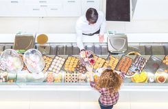 Boutique de pâtisserie Photographie stock libre de droits