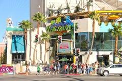 Boutique de restaurant-cadeau de Margaritaville à Las Vegas Image stock
