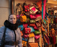 Boutique de sacs images stock