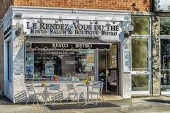 Boutique de salon de Resto Photos libres de droits