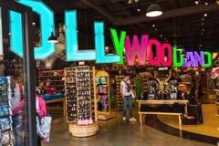 Boutique de souvenirs dans Hollywoodland photos libres de droits