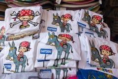 Boutique de souvenirs dans la capitale d'islan méditerranéen de renommée mondiale Images libres de droits