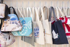 Boutique de souvenirs dans la capitale d'islan méditerranéen de renommée mondiale Photos stock