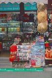 Boutique de souvenirs dans la vieille ville de Changhaï, Chine Image libre de droits
