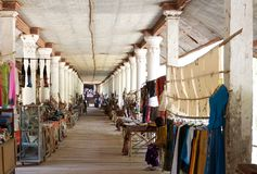 Boutique de souvenirs dans Myanmar Photos libres de droits