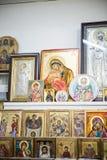 Boutique de souvenirs en Grèce Image libre de droits