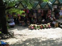 Boutique de souvenirs en parc de vue de mines, Baguio, Baguio, Philippines image stock