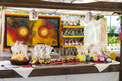 Boutique de souvenirs en Sardaigne, Italie Photo stock