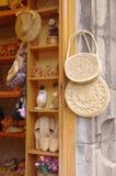 Boutique de souvenirs faite main Images libres de droits