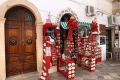 Boutique de souvenirs Italie Photographie stock libre de droits