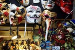 Boutique de souvernirs de Venise Images libres de droits