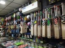 Boutique de sports photo stock
