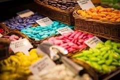 Boutique de sucrerie images libres de droits