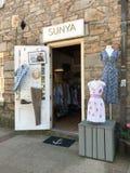 Boutique de Sunya, Newport, Île de Rhode Image stock