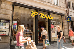 Boutique de Tchibo Image stock