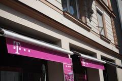 Boutique de Telekom Photos stock