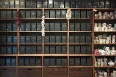 Boutique de thé Image stock