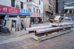 Boutique de traitement en pierre Image stock