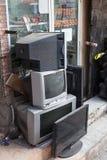 Boutique de TV dans Nizwa, Oman Images libres de droits