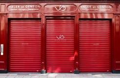 Boutique de Valer et de Genton dans des Frances de Strasburg Photographie stock