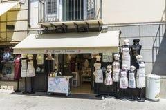 Boutique de Veronica de Ricami à Palerme en Sicile, Italie image stock
