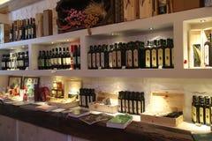 Boutique de vin Photographie stock